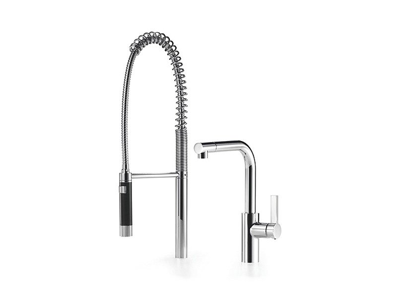 Kitchen mixer tap with spray ELIO By Dornbracht design Sieger Design