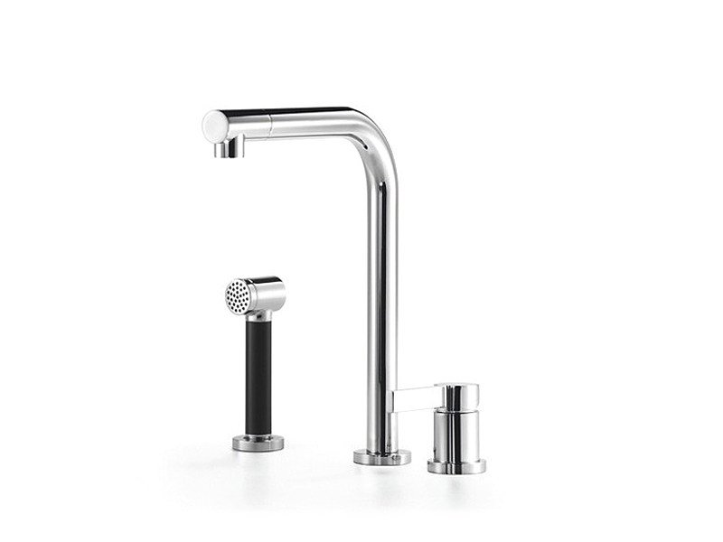 Kitchen mixer tap with spray with individual rosettes ELIO by Dornbracht