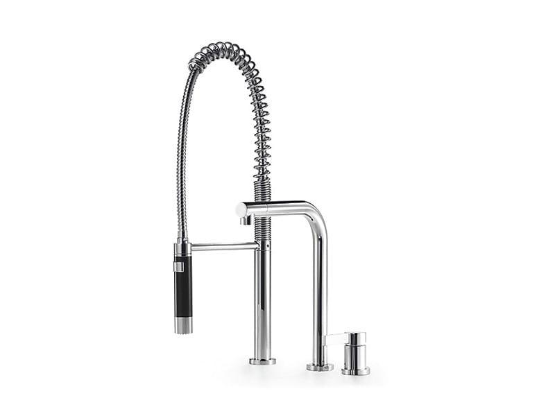 2 hole kitchen mixer tap with spray ELIO by Dornbracht