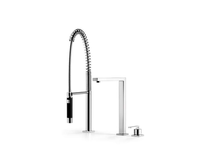 Kitchen mixer tap with spray 32 800 680   Kitchen mixer tap with spray by Dornbracht