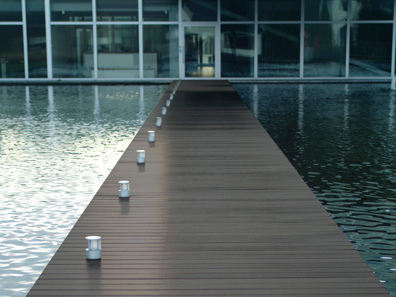 Wood and Polyethylene decking NEODECK® by Apa Group Spa