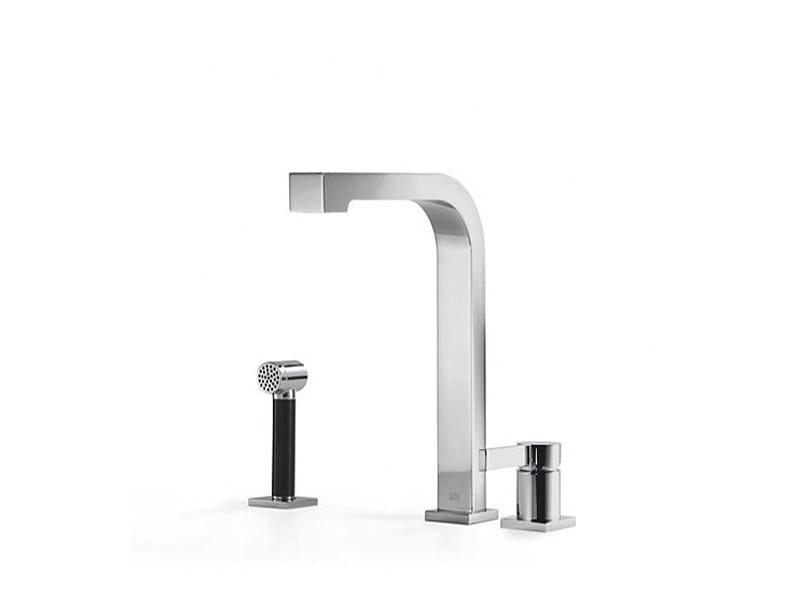 Kitchen mixer tap with spray 32 800 795 | Kitchen mixer tap with spray by Dornbracht