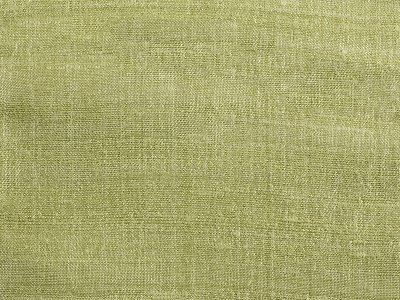 Solid-color silk fabric FANFARA by Dedar