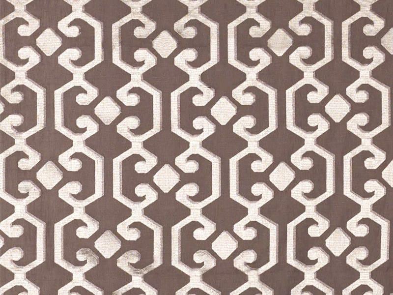Washable sheer linen fabric for curtains CASABLANCA by Dedar