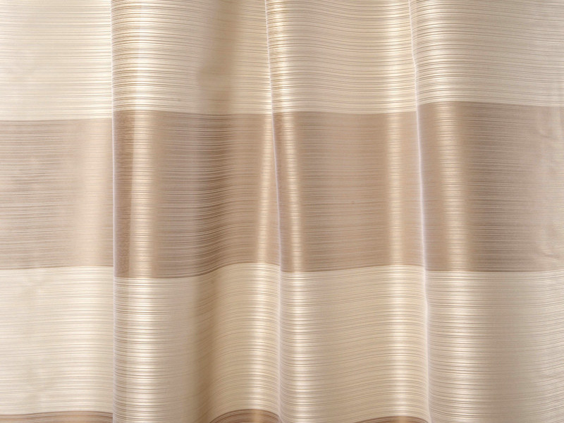 Striped fire retardant washable Trevira® CS fabric FLOW by Dedar