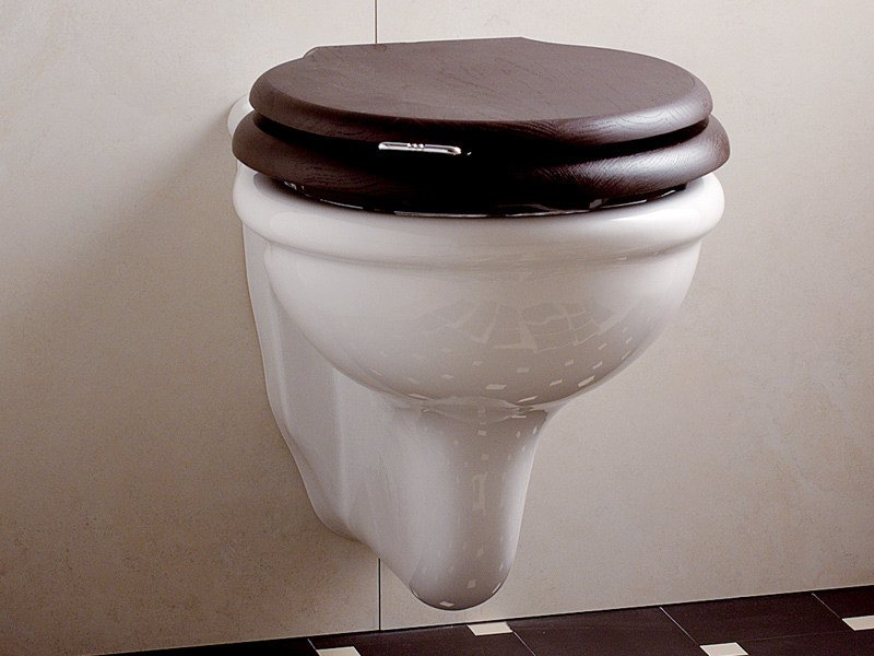 Wall-hung ceramic toilet ETOILE | Wall-hung toilet by Devon&Devon