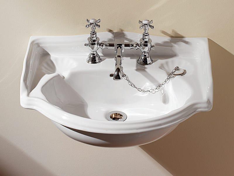 Wall-mounted washbasin OXFORD | Wall-mounted washbasin by Devon&Devon