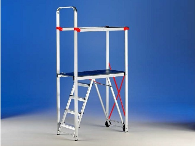 Aluminium Mobile scaffolding for construction site FLASH by SVELT