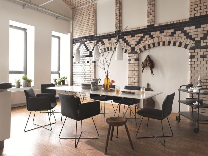 Rectangular wooden table JALIS   Rectangular table by COR