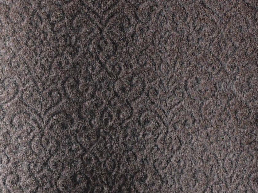 Jacquard alpaca fabric for curtains COCOON by Dedar