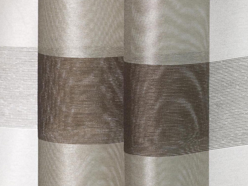 Fire retardant sheer fabric for curtains MAGIA by Dedar
