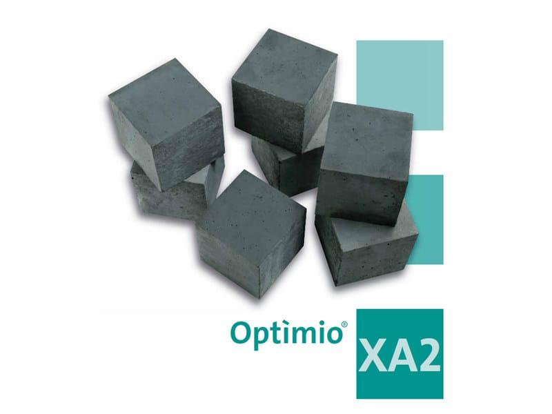Pre-mixed structural concrete Optìmio® XA2 by Holcim-italia