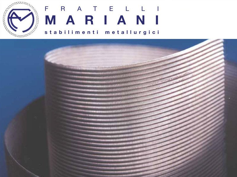 Metal fabric and mesh METALLIC MESH AND NET by Fratelli Mariani