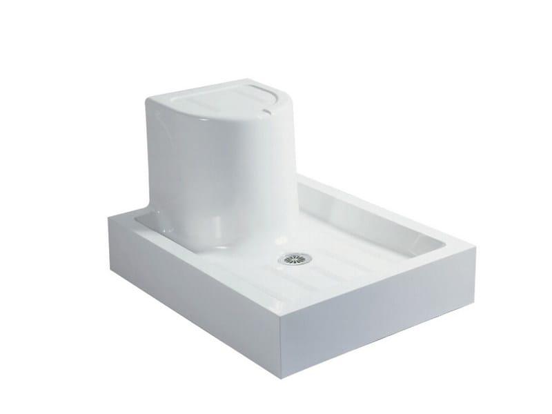 Pietraluce® shower tray COMFORT by Technova