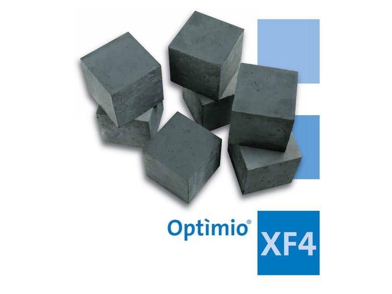 Pre-mixed structural concrete Optìmio® XF4 by Holcim-italia