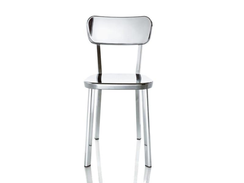 Extruded aluminium chair DEJÀ-VU | Chair by Magis