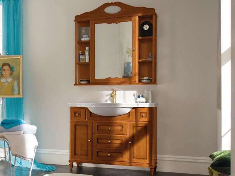 Single wooden vanity unit YORK 12 | Vanity unit by Cerasa