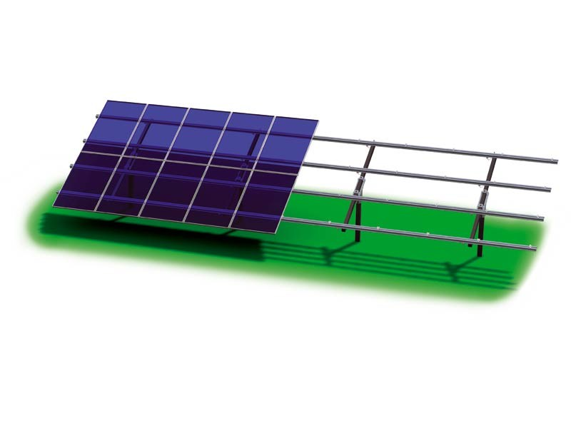 Support for photovoltaic system ZENITH by STRUKTURE