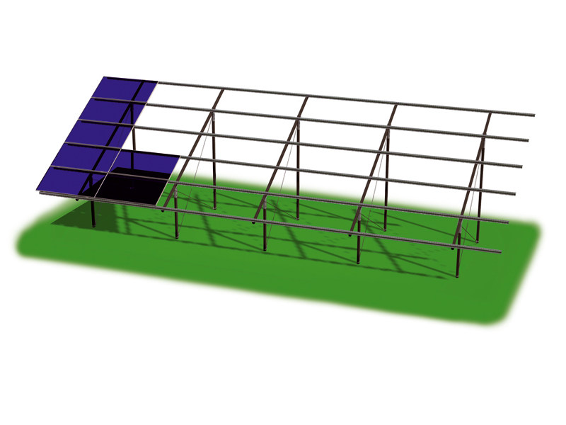 Support for photovoltaic system ZENITH PLUS by STRUKTURE