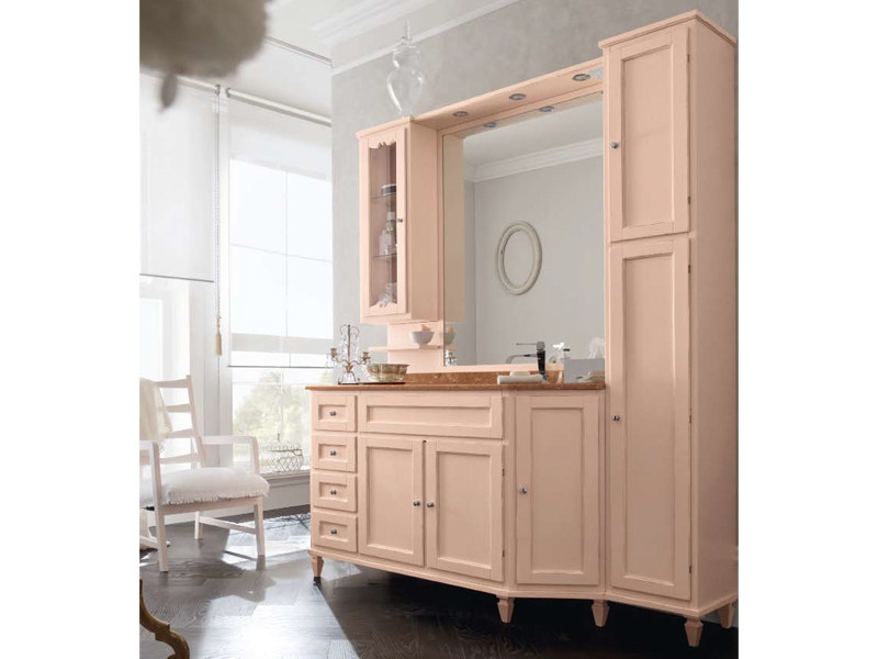Wooden vanity unit with cabinets YORK 13 | Vanity unit by Cerasa