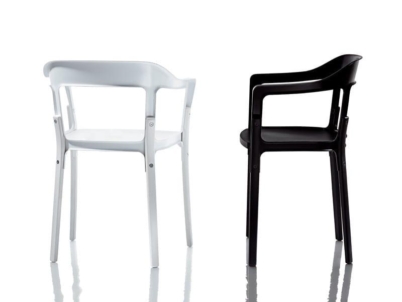 STEELWOOD | Sedia By Magis design Ronan & Erwan Bouroullec