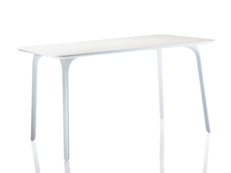 Lacquered MDF garden table FIRST | Table by Magis