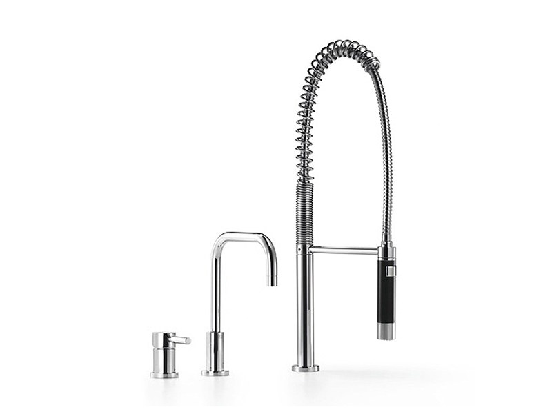 Design kitchen mixer tap with spray 32 800 625   Kitchen mixer tap with spray by Dornbracht