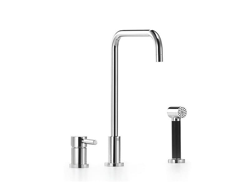 Kitchen tap with spray 32 815 625 | Kitchen mixer tap with spray by Dornbracht
