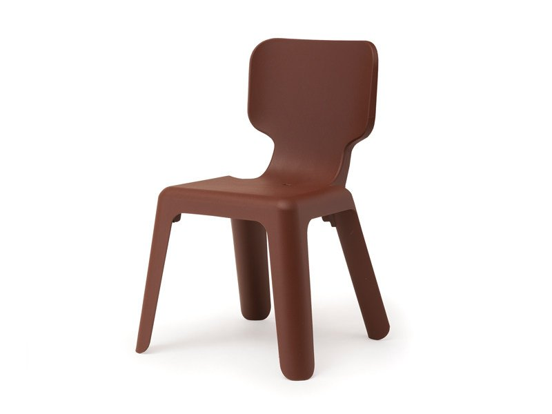 Stackable polypropylene kids chair ALMA by Magis
