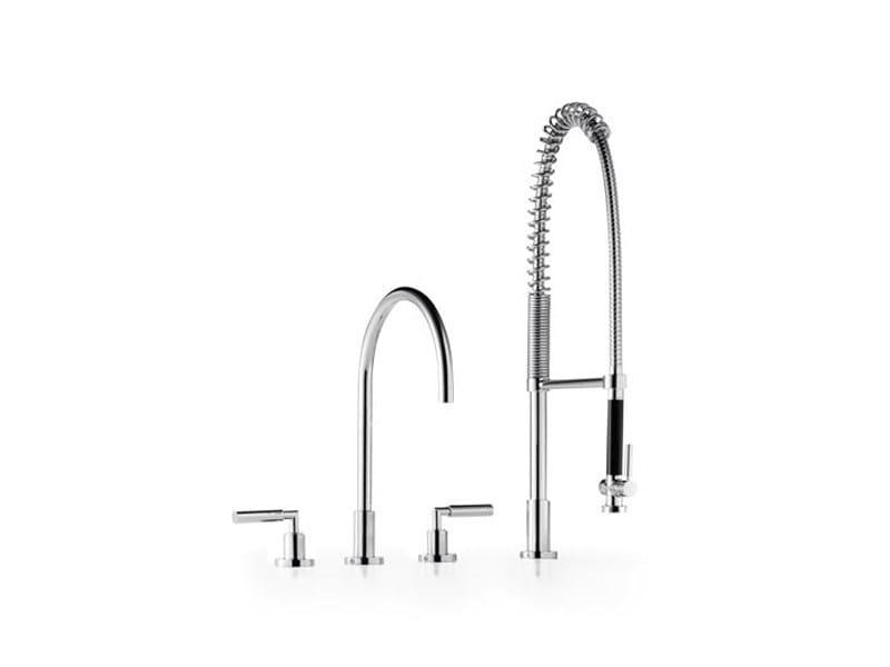 Kitchen tap with spray 20 712 882   Kitchen tap with spray by Dornbracht