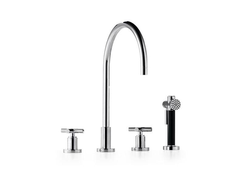 Kitchen tap with spray 20 712 892   Kitchen tap with spray by Dornbracht