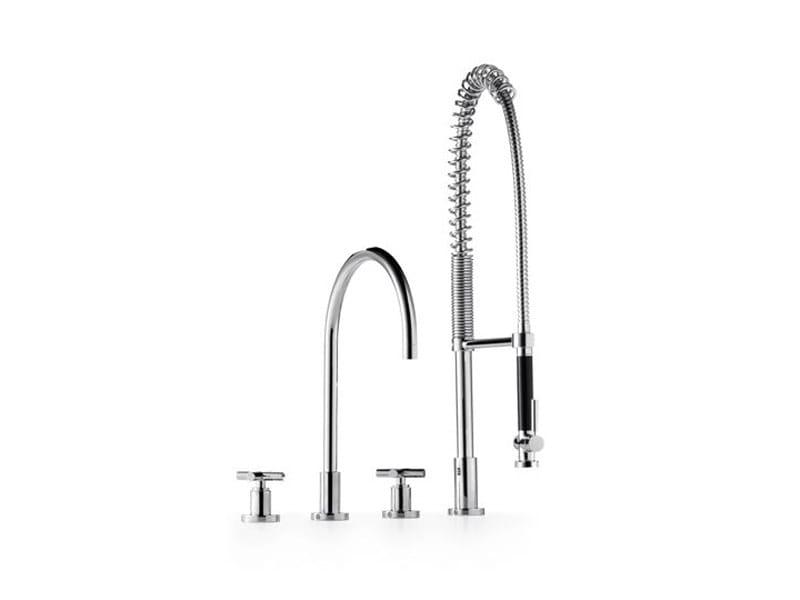 Kitchen tap with spray 20 712 892 | Kitchen tap with spray by Dornbracht