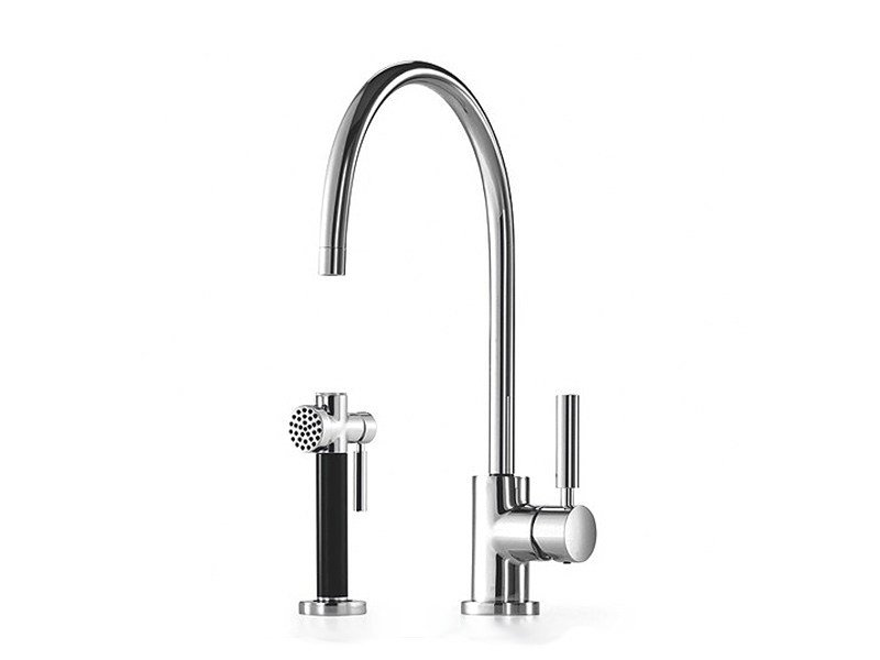 Design kitchen mixer tap with spray 33 826 888 | Kitchen mixer tap with spray by Dornbracht
