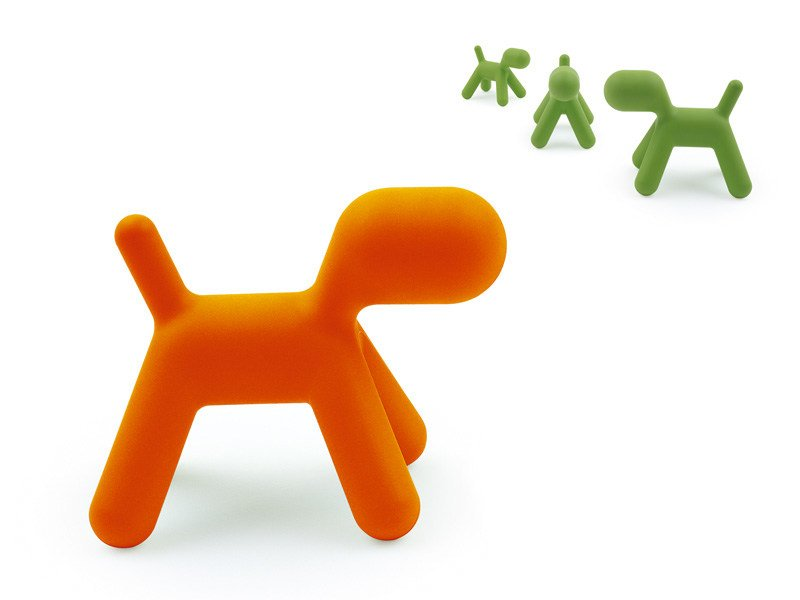 Polyethylene game PUPPY | Game by Magis