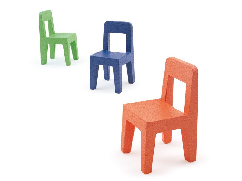Polypropylene kids chair SEGGIOLINA POP by Magis