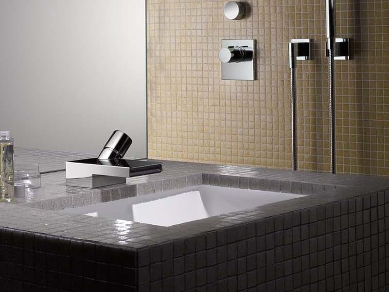 DEQUE | Miscelatore per lavabo Miscelatore per lavabo cromato monocomando