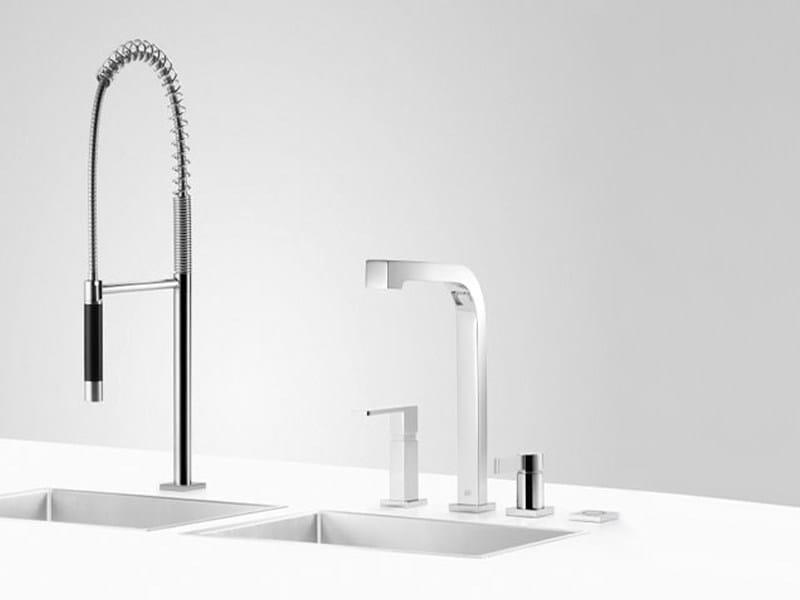 Kitchen tap with spray CLEAN SET 7 by Dornbracht