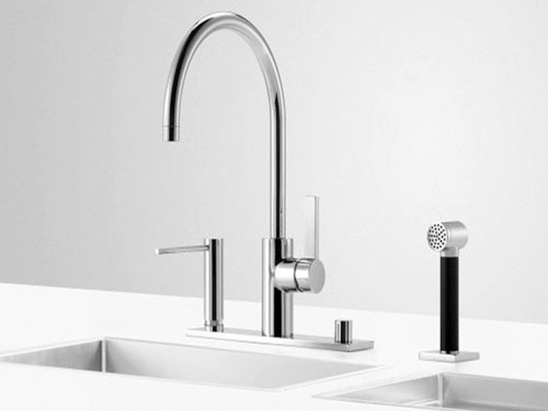 Kitchen tap with spray UNI SET 1 by Dornbracht