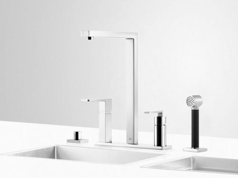 Kitchen tap with spray UNI SET 2 by Dornbracht