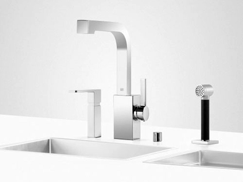 Kitchen tap with spray UNI SET 5 by Dornbracht
