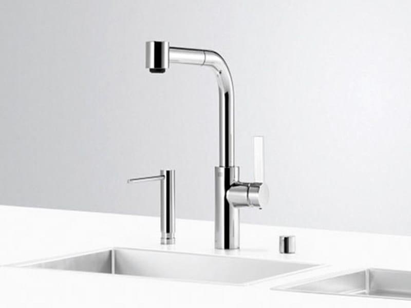 Kitchen tap with spray UNI SET 6 by Dornbracht