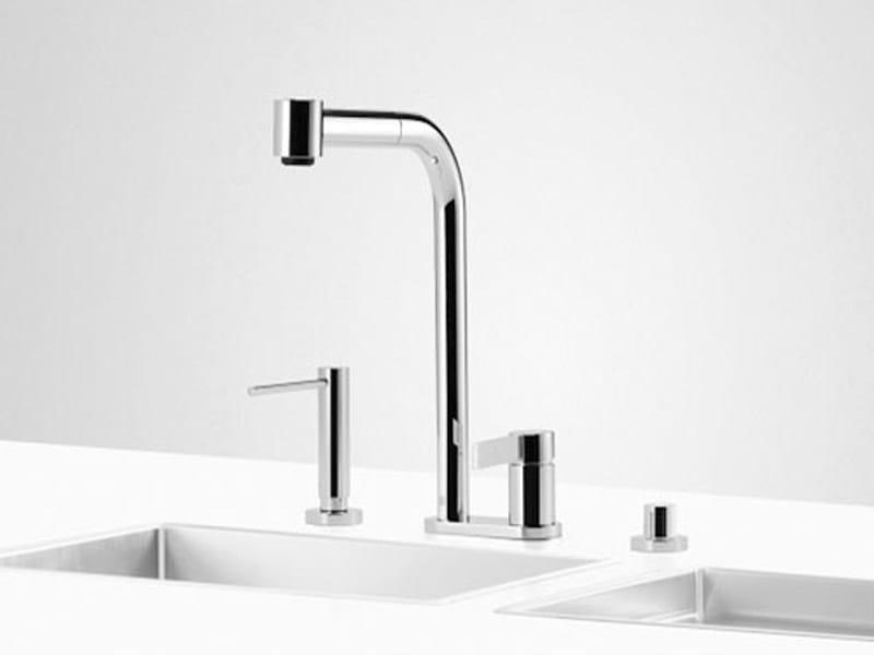 Kitchen tap with spray UNI SET 8 by Dornbracht