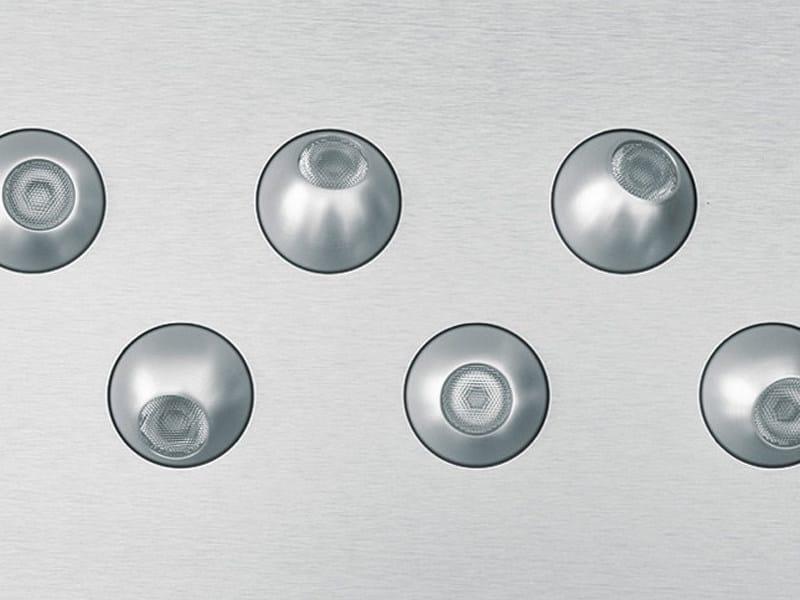 Multiple adjustable recessed spotlight ORIONE LED | Multiple spotlight by Tecnoilluminazione
