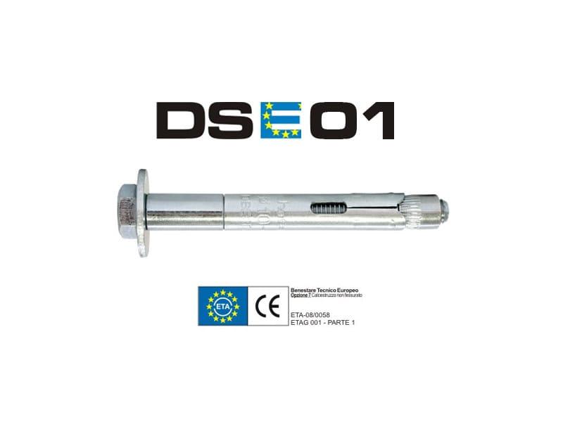 Galvanized steel Wall plug DSE01 by TECFI