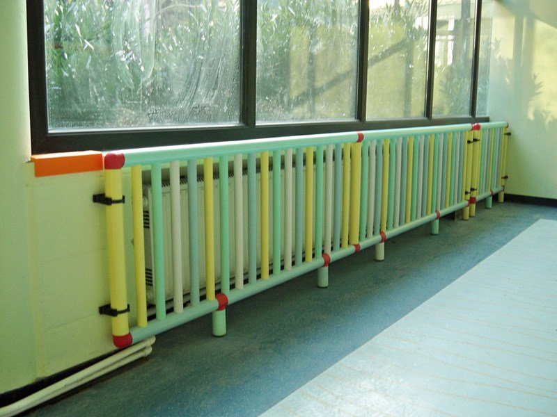 Safety cover for radiator TERMO SICURO | Safety cover for radiator by Piesse