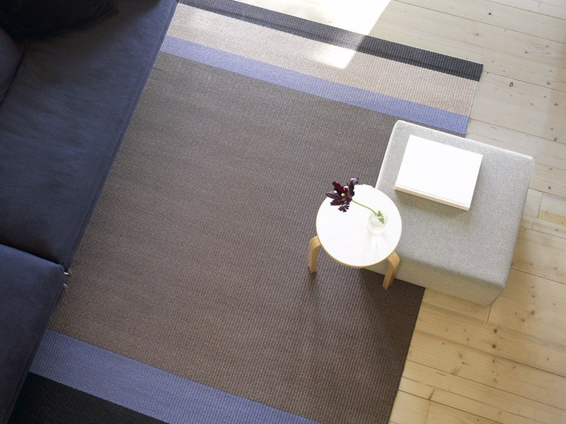Striped rug PANORAMA by Woodnotes