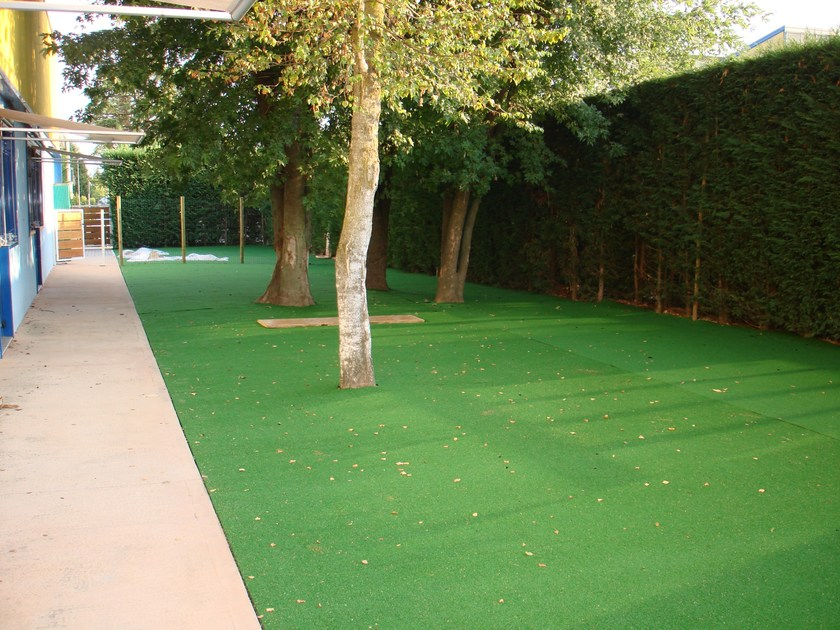 Synthetic grass sports flooring ECO-FLOOR 15 by Piesse