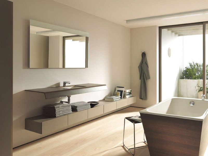 Suspended bathroom cabinet with drawers DURASTYLE | Bathroom cabinet with drawers by Duravit
