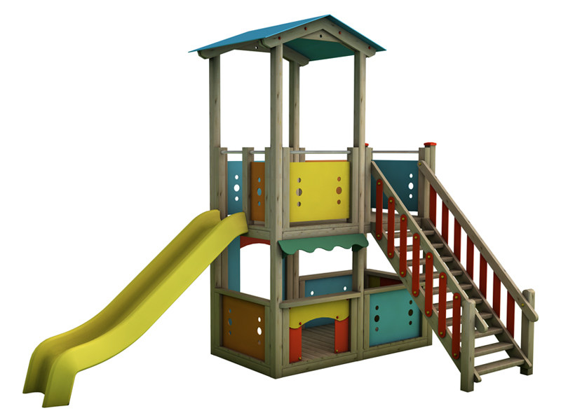 Play structure MAGIC CITY | 1003 by Legnami Tirano