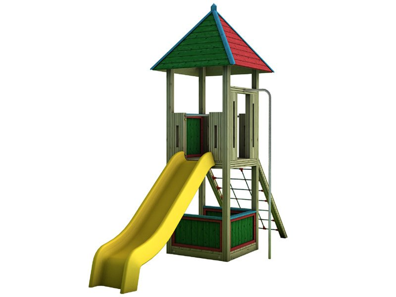 Play structure COUNTRY   2003 by Legnami Tirano